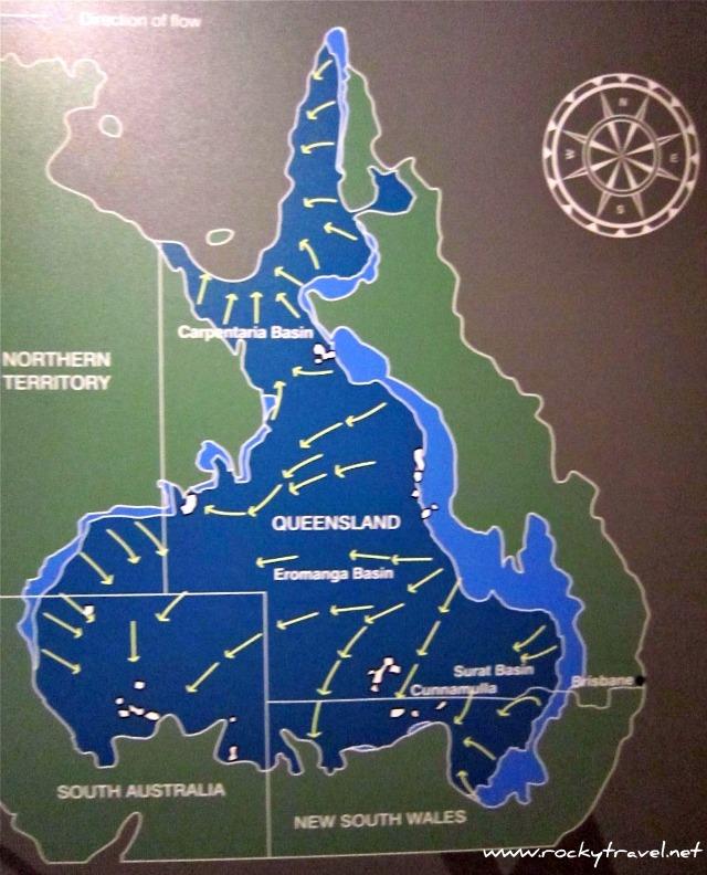 Map Of Australia Great Artesian Basin.The Great Artesian Basin Story