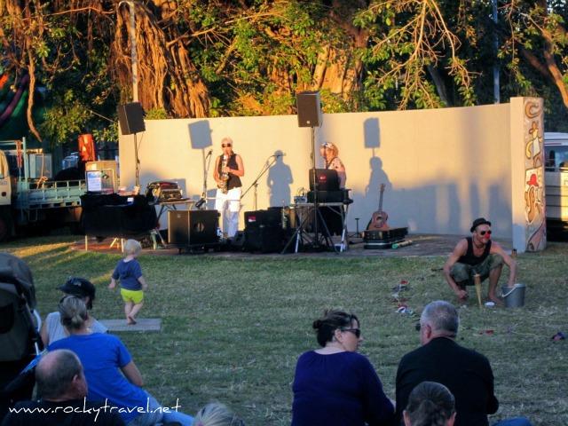 Music at Mindil Beach Sunset Markets