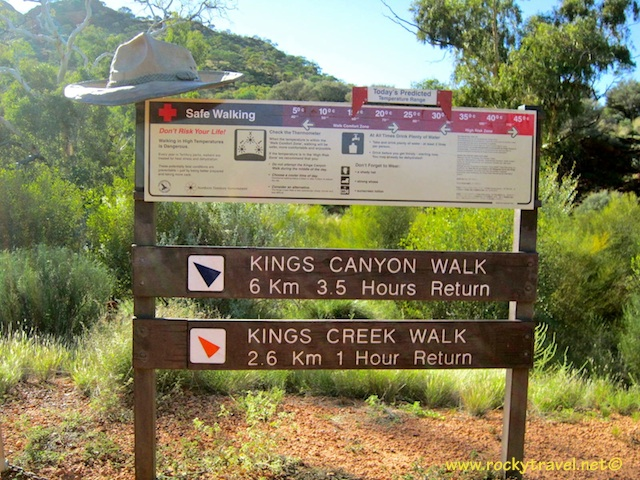 Kings Canyon Walks