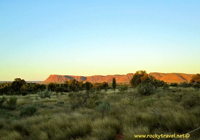 Sunset Kings Canyon