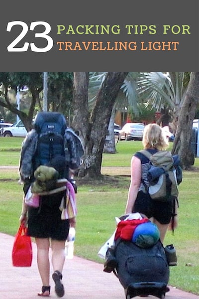 e4781e5b59 23 Packing Tips for Australia - How to travel light in Oz