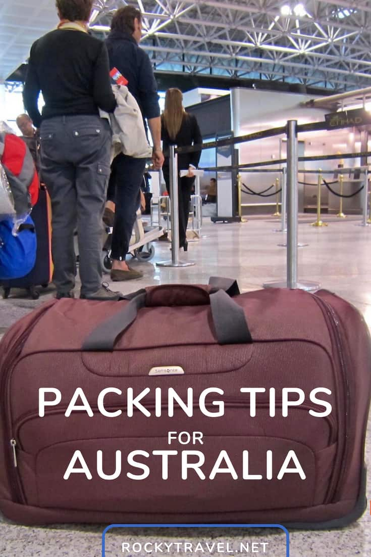 Packing Tips For Australia   How To Pack Light For Your Australia Trip