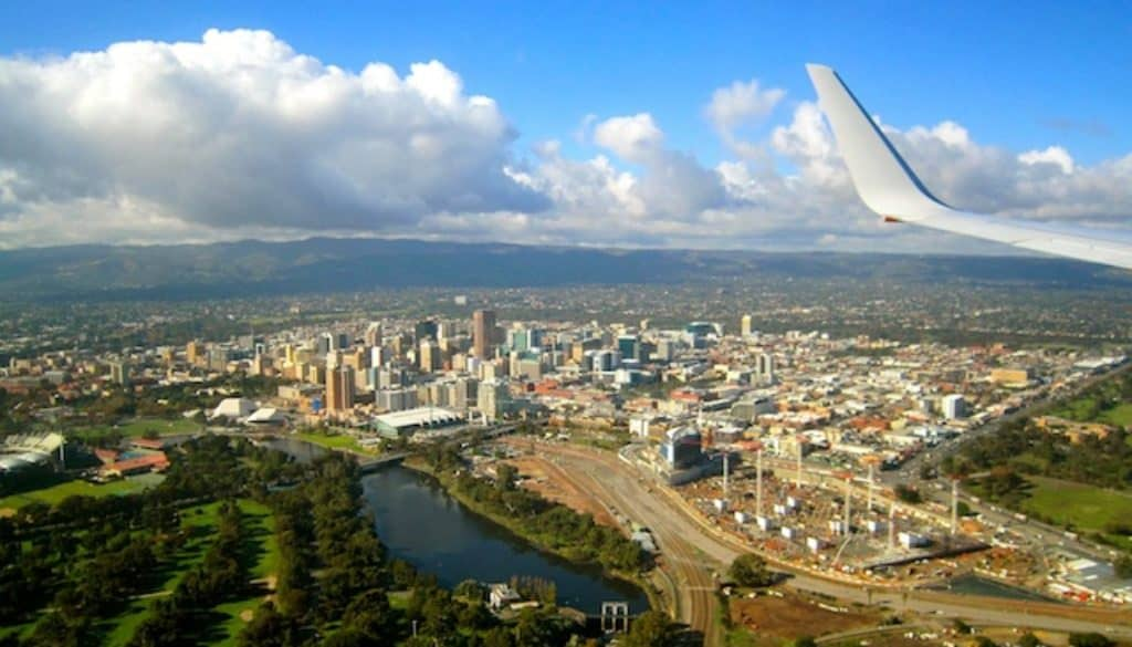 Imanges of Adelaide from the air