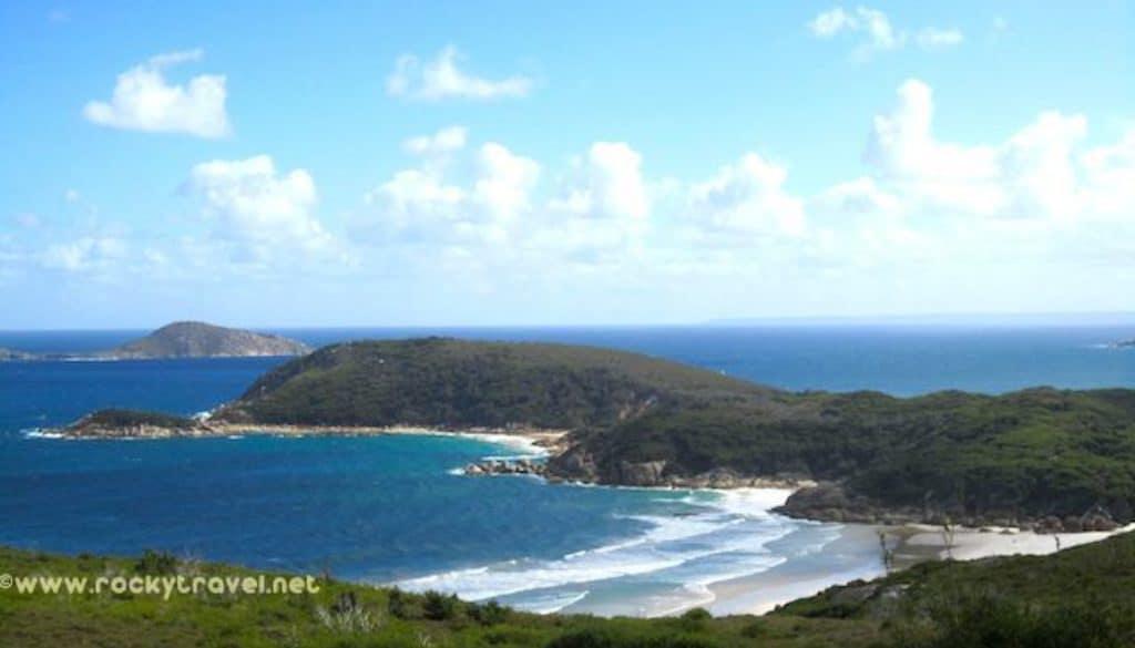 Squeaky Beach Panoramic View