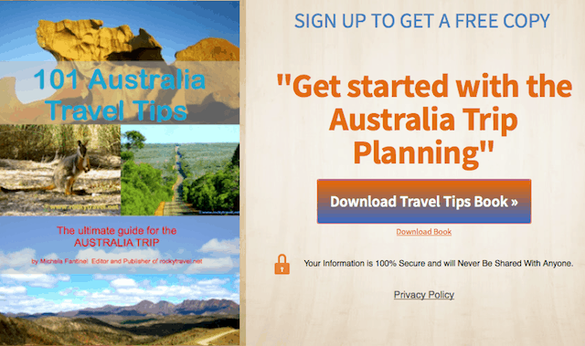 Australia Travel Tips Ebook