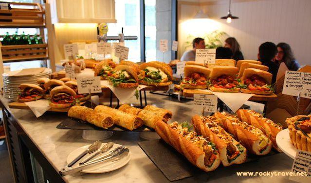 Melbourne Lanes Food