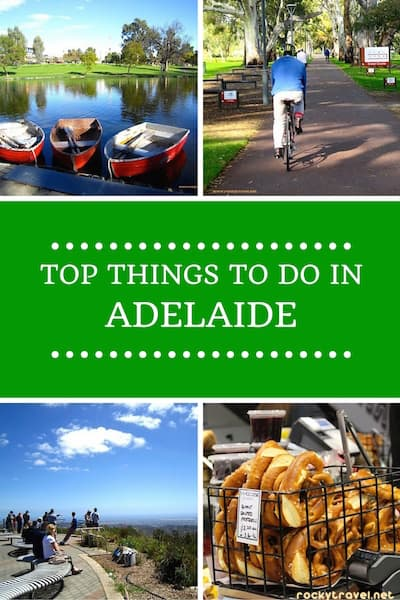 Top Things to do in Adelaide Australia
