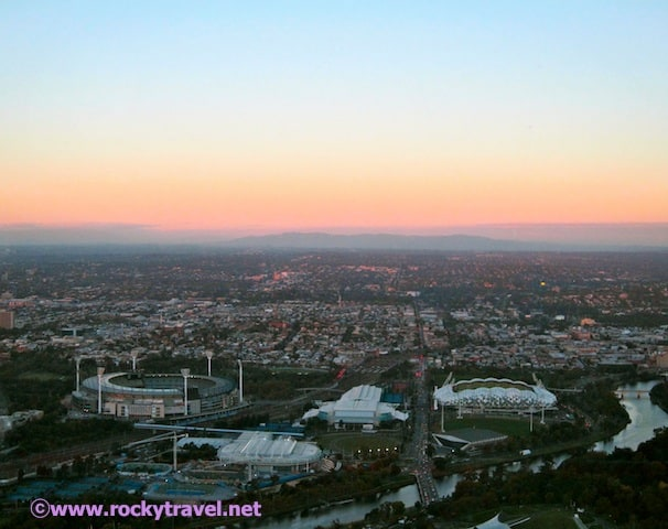 Melbourne from Eureka Tower