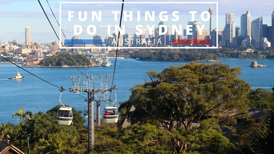 Fun places to go on a date in Sydney