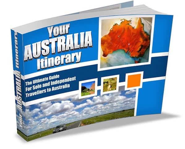Ausrtralia Solo Travel Book Cover copy
