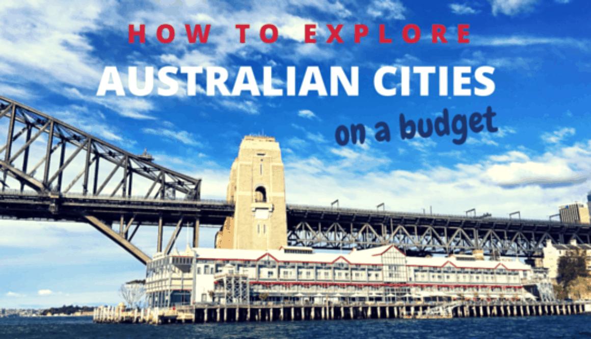 Australian Cities on A Budget