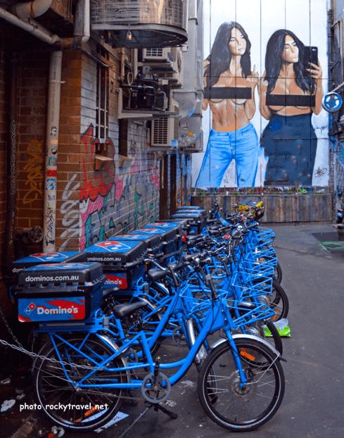 Franklin Street Art Melbourne