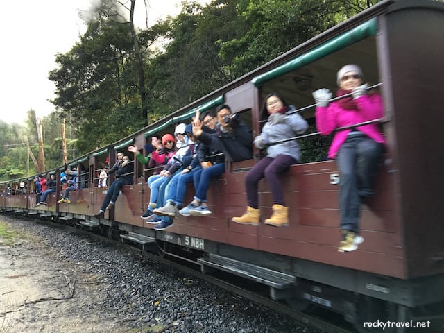 Puffing Billy Steam Train