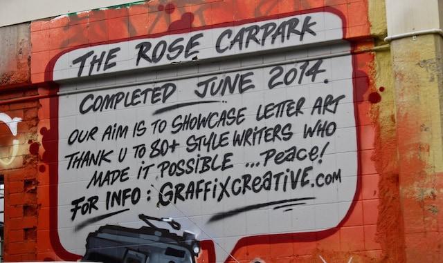 The Rose CarPark Melbourne