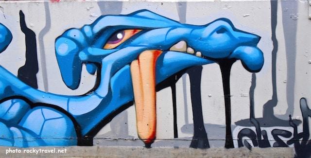 The Rose CarPark Street Art