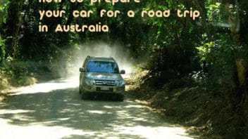 How to prepare your car for a road trip in Australia