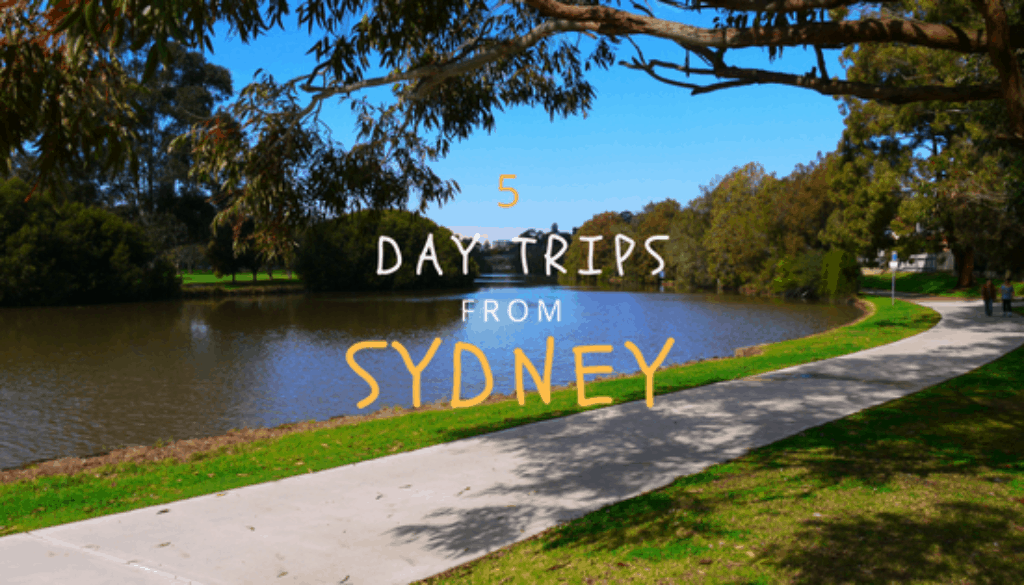 5 day trips from sydney you can do by public transport