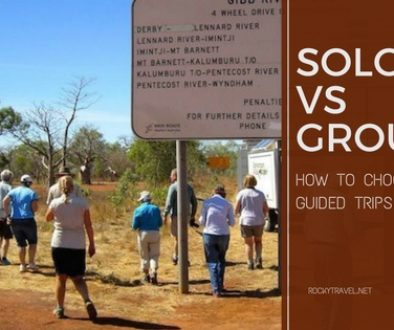 Solo vs Group - Guided Trips and Tours