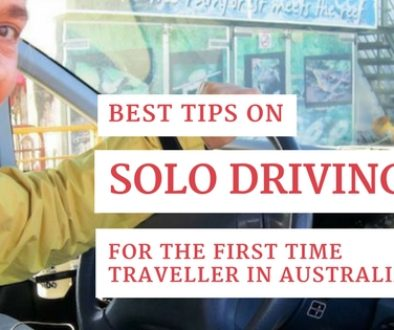 Best Solo Driving Tips for the first time traveller in Australia