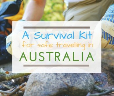 A Survival Kit for Safe Travelling aroung Australia
