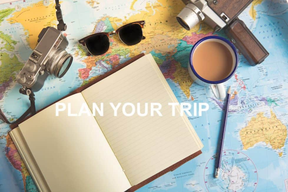 A step-by-step guide on how to plan your trip guide