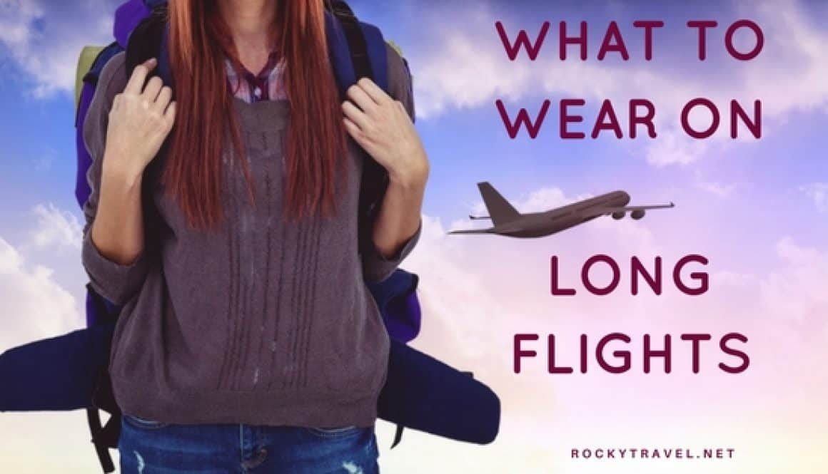 What to wear on long haul flights - the perfect plane outfit