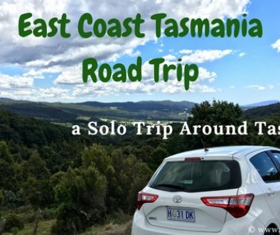 EastCoast Tasmania Road Trip - Female Solo Travel