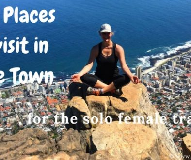 best places to visit in Cape Town for the solo female traveller
