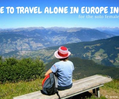 Where to Travel Alone in Europe in 2018
