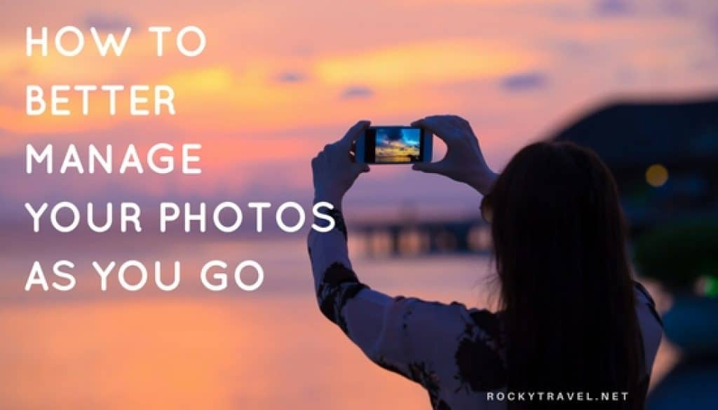 How to manage photos on iphone