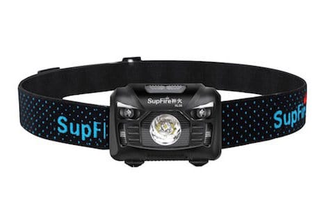 The Superfire Headlamp LED on Amazon