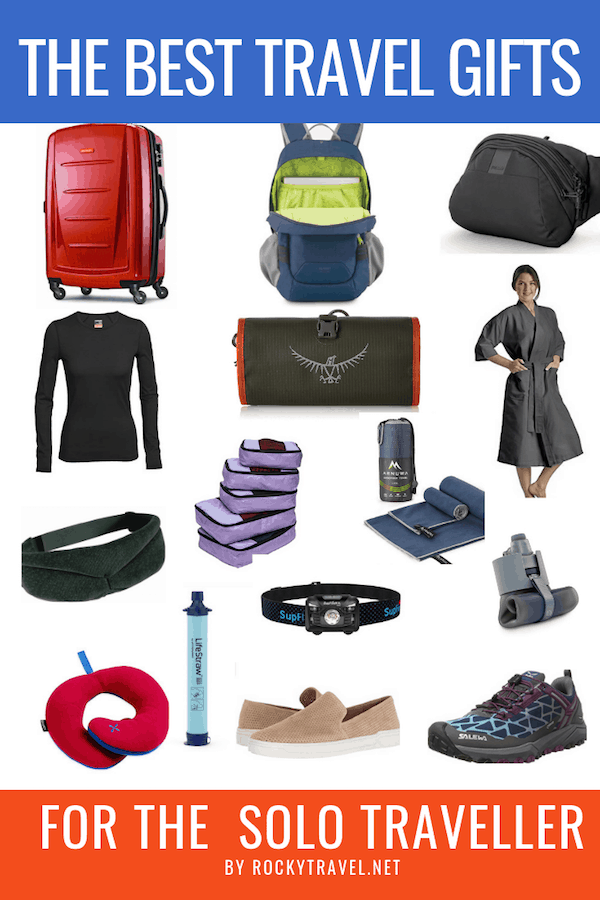 The best travel gifts ideas for the Solo Traveller