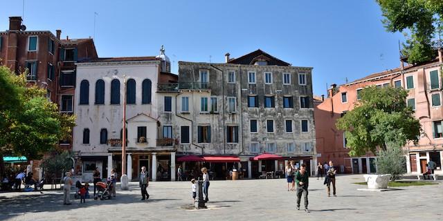 The Ghetto Novo Canareggio Venice