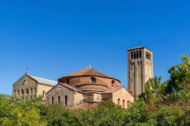 The Maria Assunta Church in Torcello Island Venice