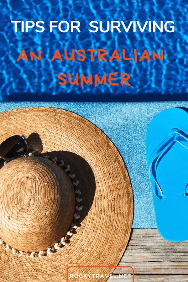 Are you planning a trip to Australia in summer? Here are my best tips on how to cope with the heatwave. From how to stay cool and safe during the hottest hours of the day to how to plan your outdoor activities and road trip during the hot summer months. #australia #triplan #summer #traveltips