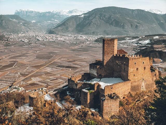 Bolzano D'Appiano Castle view