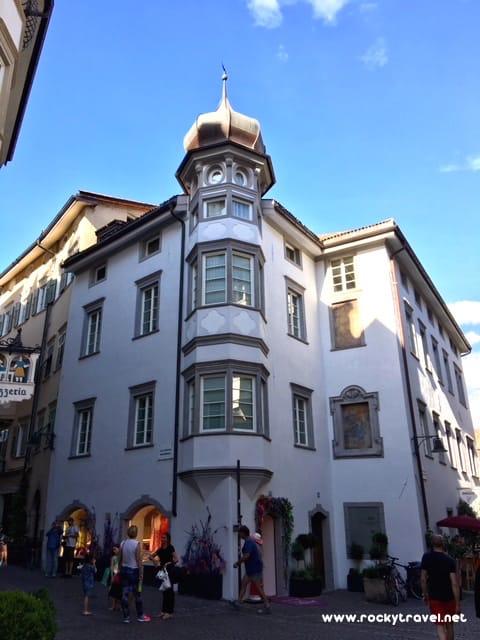 Bolzano beautiful Architecture