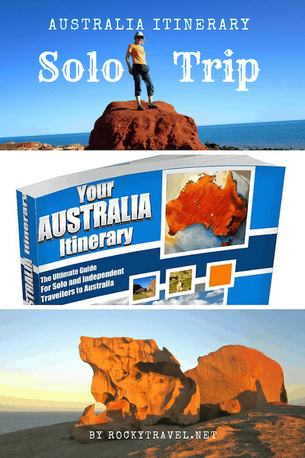 Your Australia Itinerary Guide Book