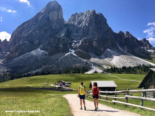 What to do in the Puez Geisler Nature Park South Tyrol Italy
