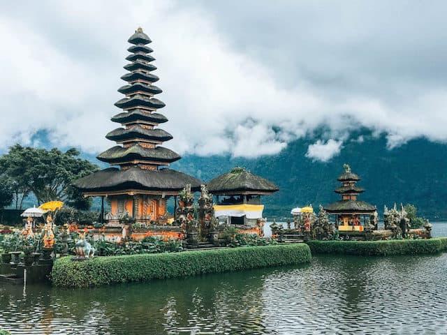 Lovina Town in Bali