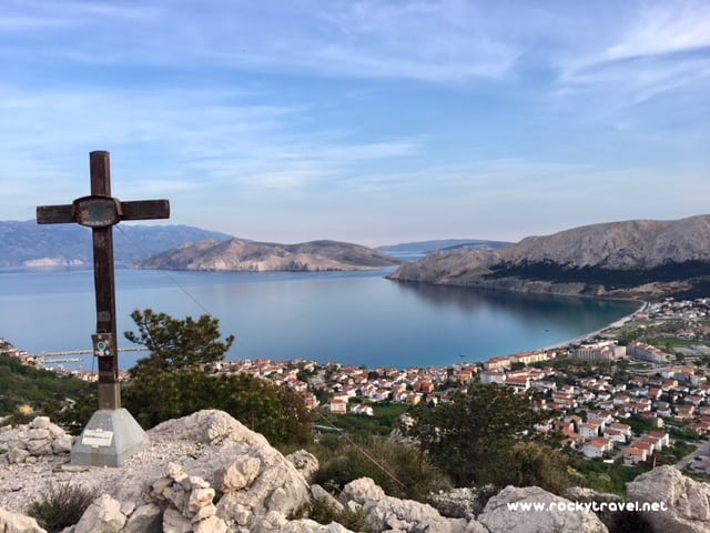 Spectacular View of the Baska Bay from Zakam Lookout