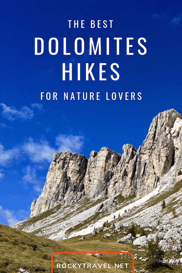 The Best Dolomites Hikes for the summer