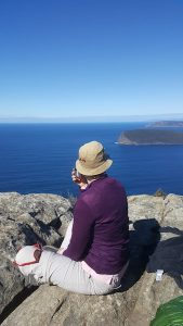 Spectacular View of the Three Capes Track